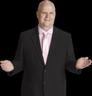 Bob Miller Presentation pose