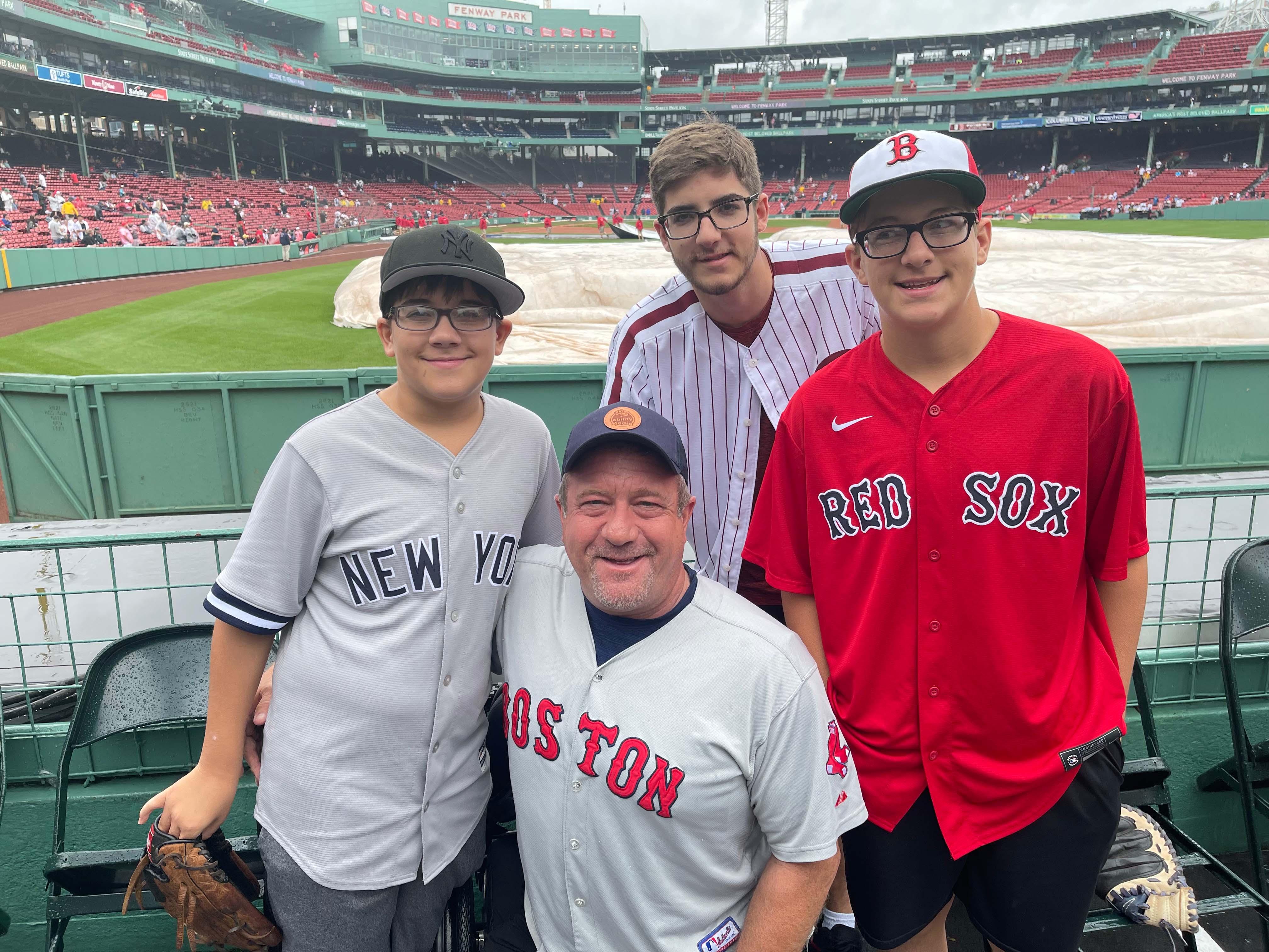 Dave Stevens and Family