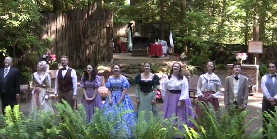 Kitsap Forest Theater - Alcott Cast