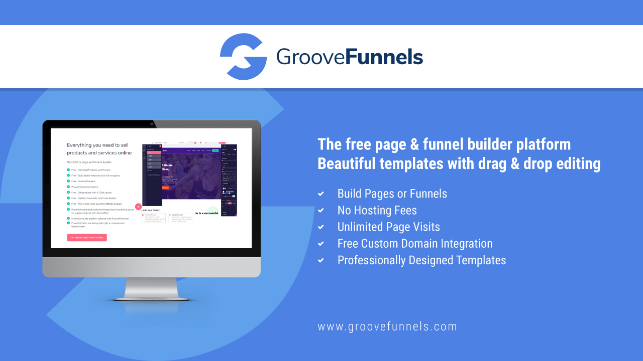 GrooveFunnels Free Sign Up