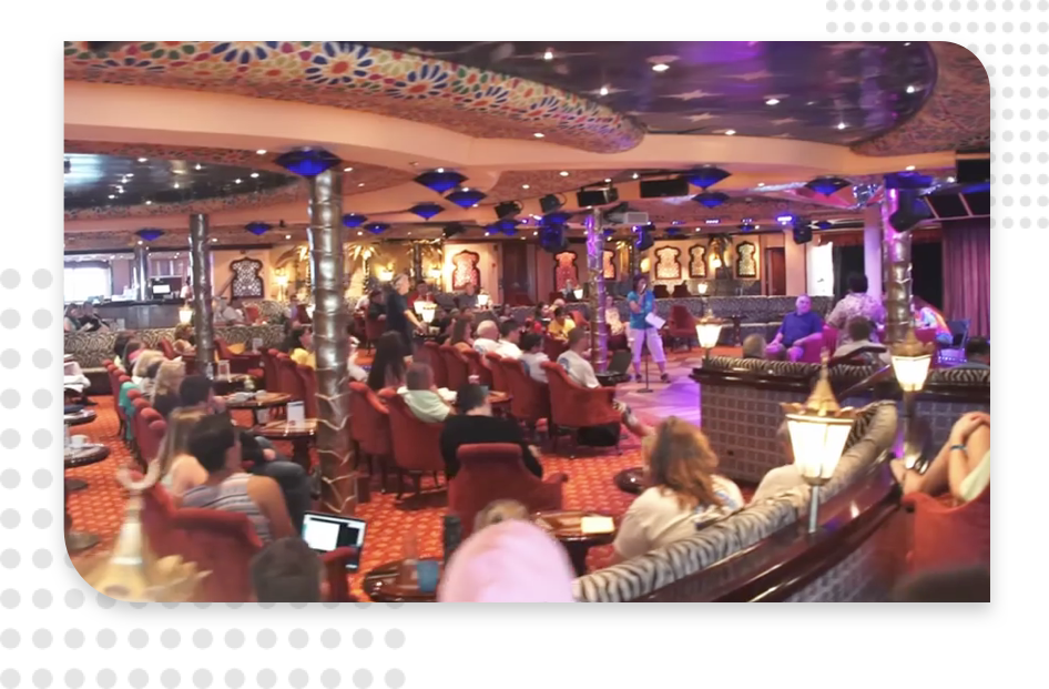 highlights from the MarketersCruise event