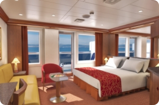 photo of the ocean suite room