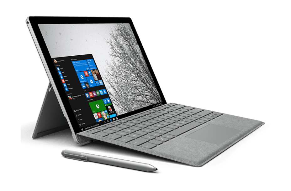 12.3-inch Microsoft Surface Pro 7 for the 9th prize