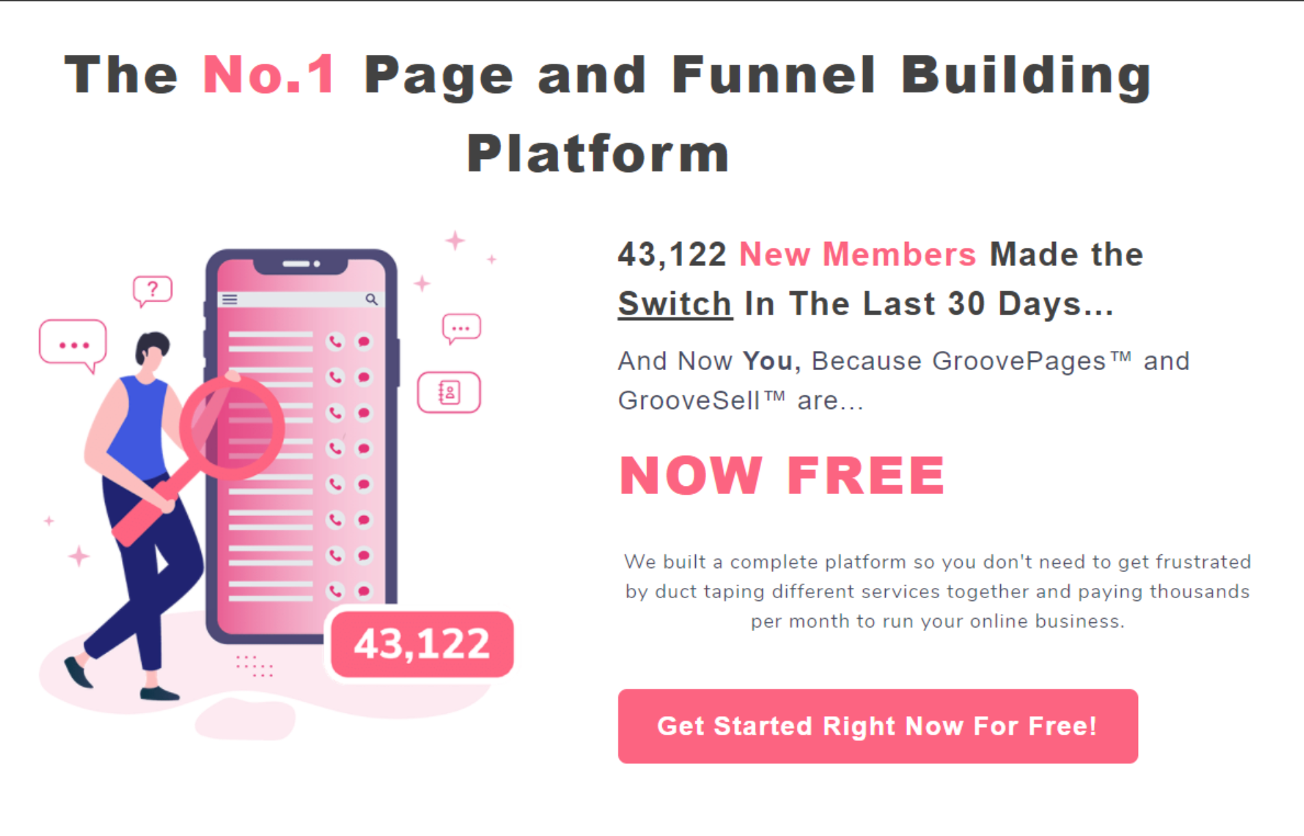 GrooveFunnels Official Site - Best Funnel Builder Platform