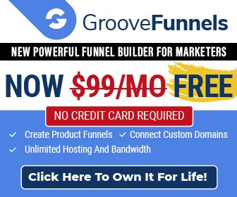best landing Page & sales Funnel software GrooveFunnels