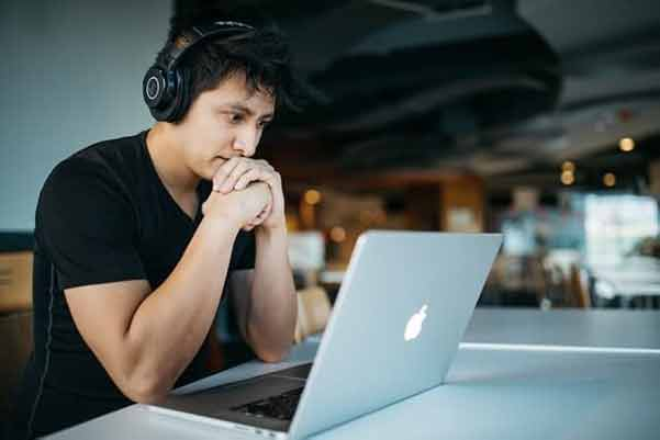 man considering Joshua Zamora's latest product