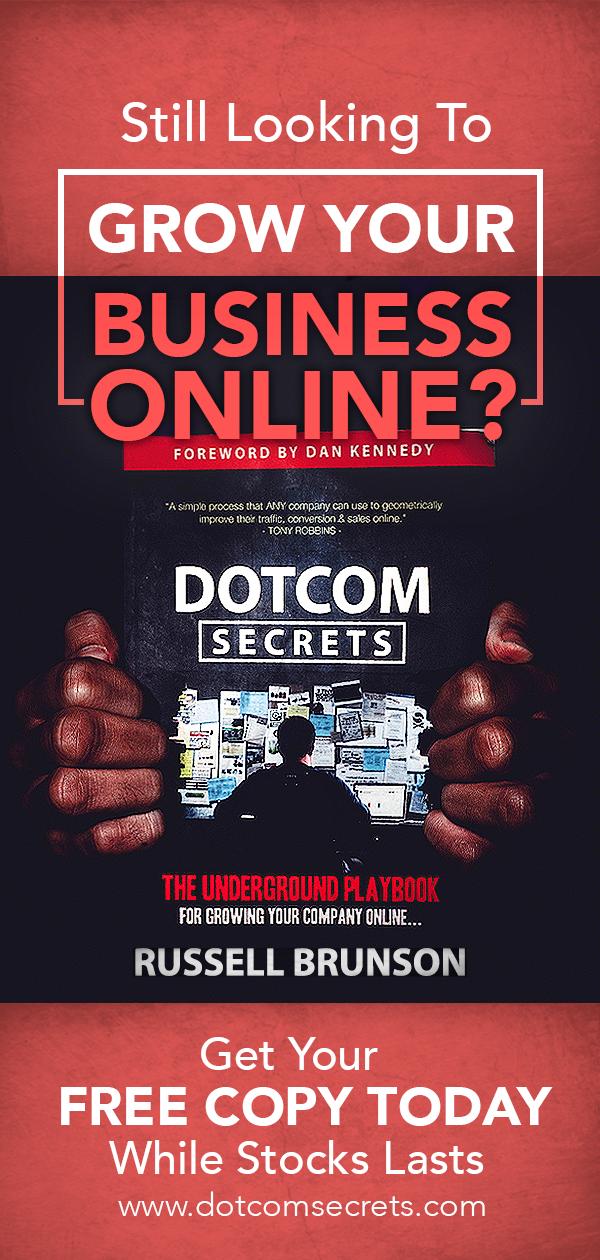 Dotcom Secrets Book Image