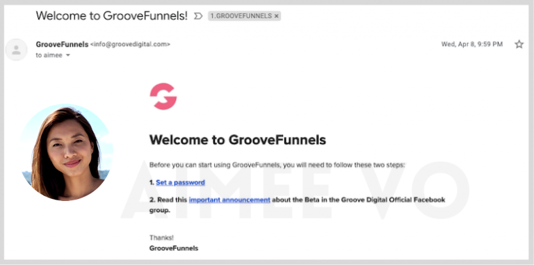 AimeeVo GrooveFunnels
