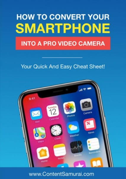 How to convert your phone into a pro video camera.