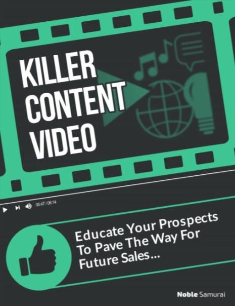 Killer content videos