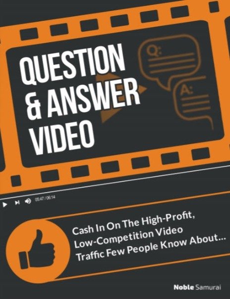 Question and Answer Videos and why they drive traffic.