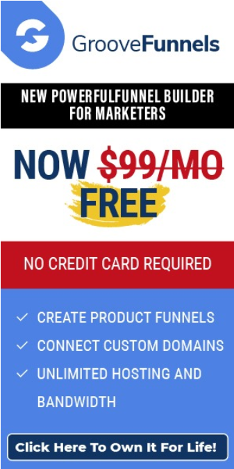Groove Funnels Page Builder