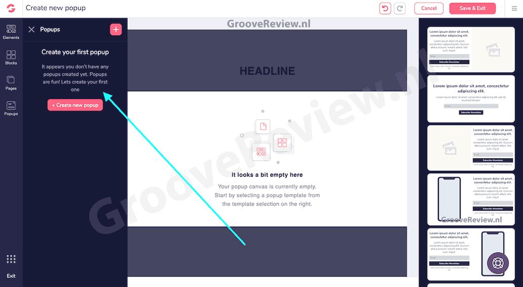 Voordelen van een sales funnel: GrooveFunnels omvat GroovePages, het nummer 1 site en sales funnel builder platform. Het wordt supergemakkelijk om pagina's te maken, bestelformulieren, popups en video's in te voegen, of een modern winkelwagentje aan je site te koppelen, dit om ervoor te zorgen dat je klanten zich thuis voelen en zo je  winst opdrijven. [GrooveReview.nl]