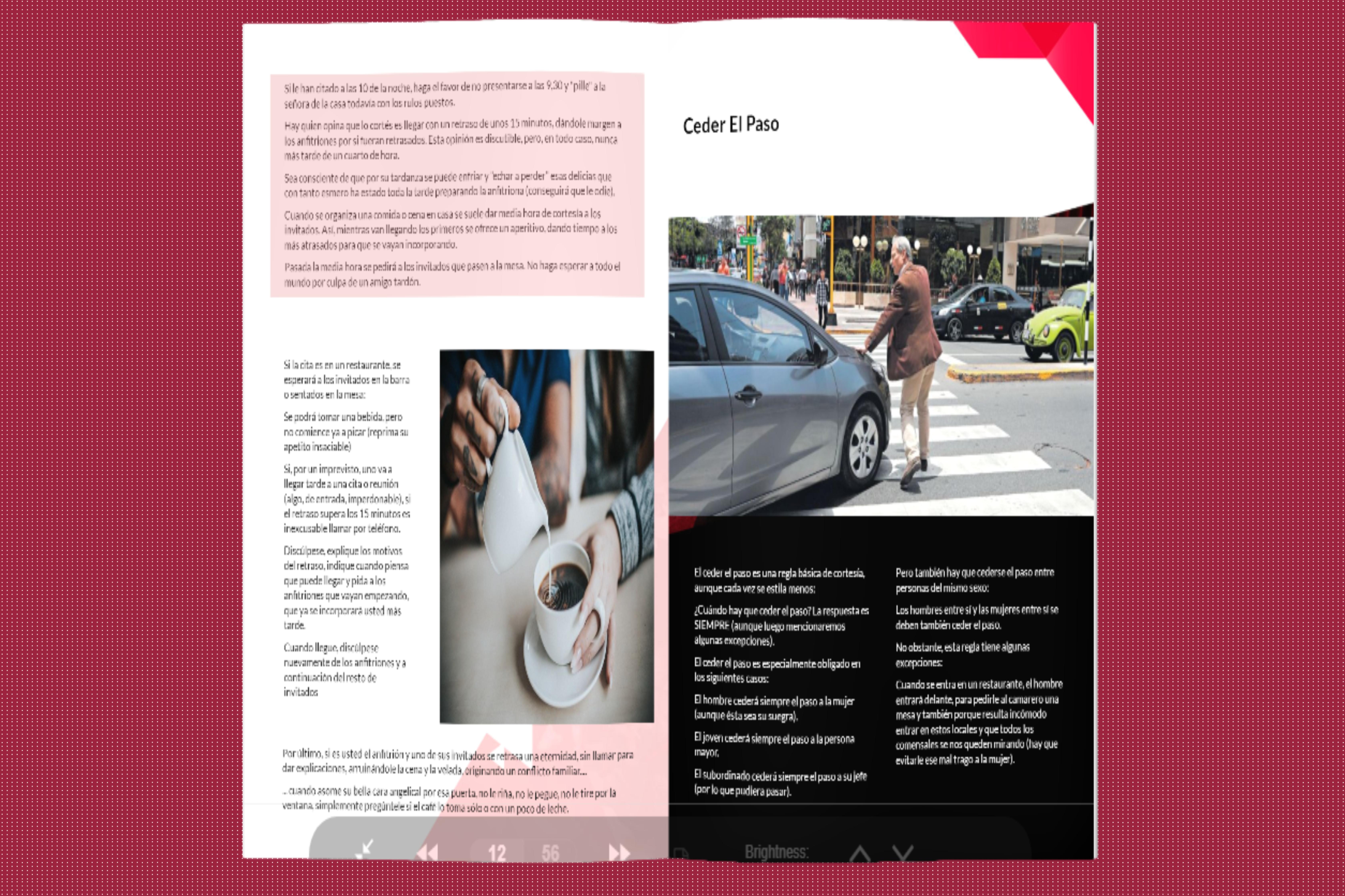 Flipbook design