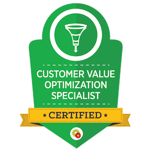 customer value optimisation specialist certified