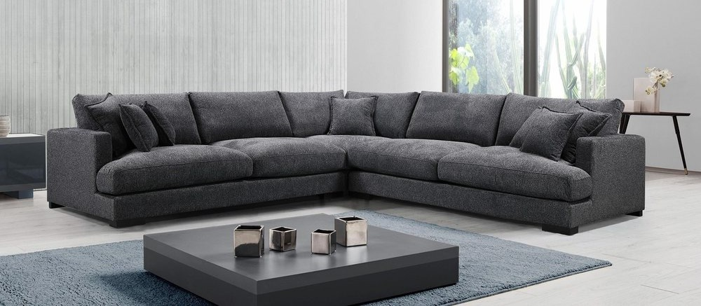 Hollywood Modular Lounge with Feater Seat Cushions