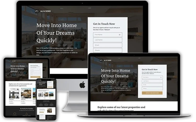 groove funnel template - for real estate