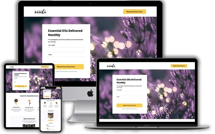 groove funnel template - for ecommerce membership site