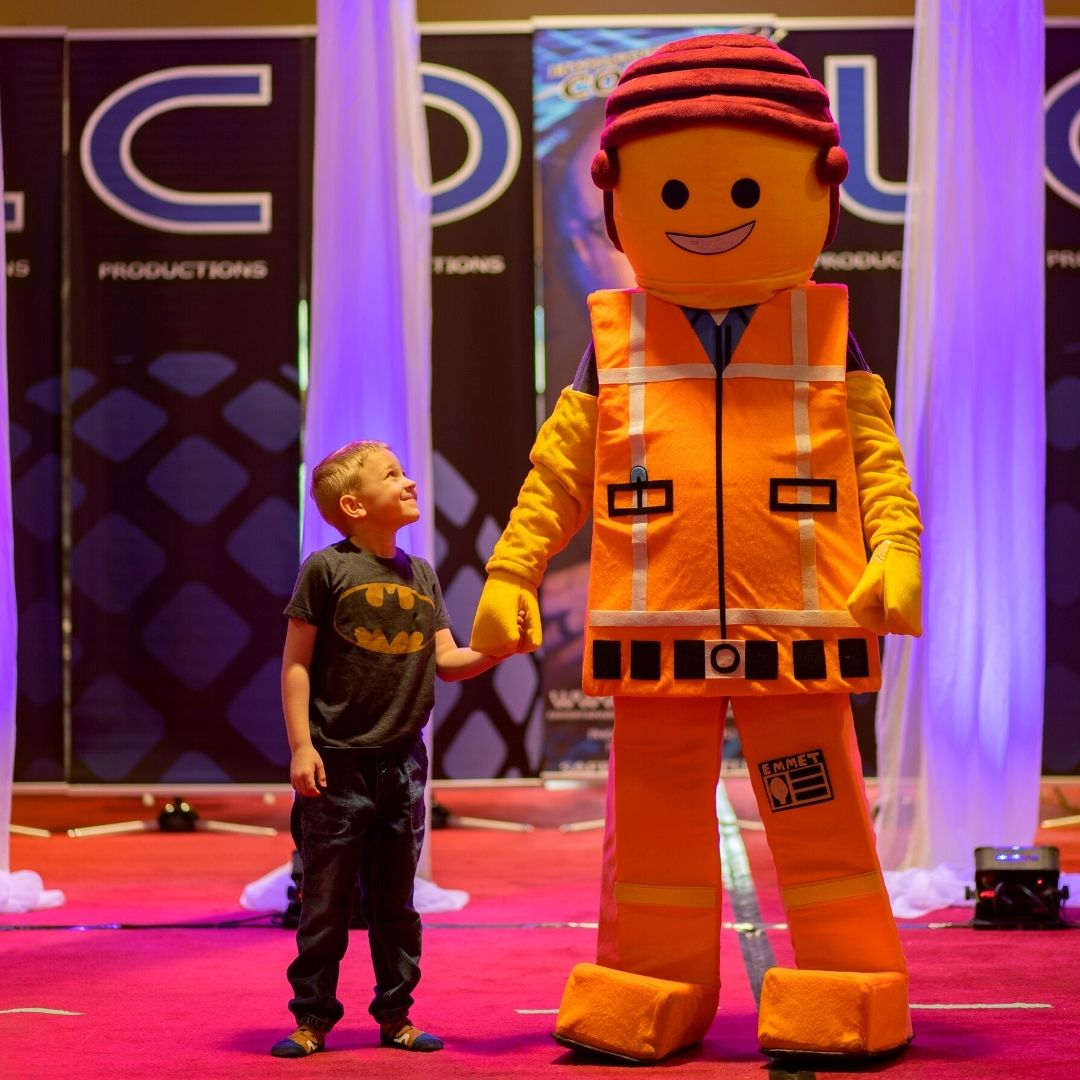 party mascots  builder
