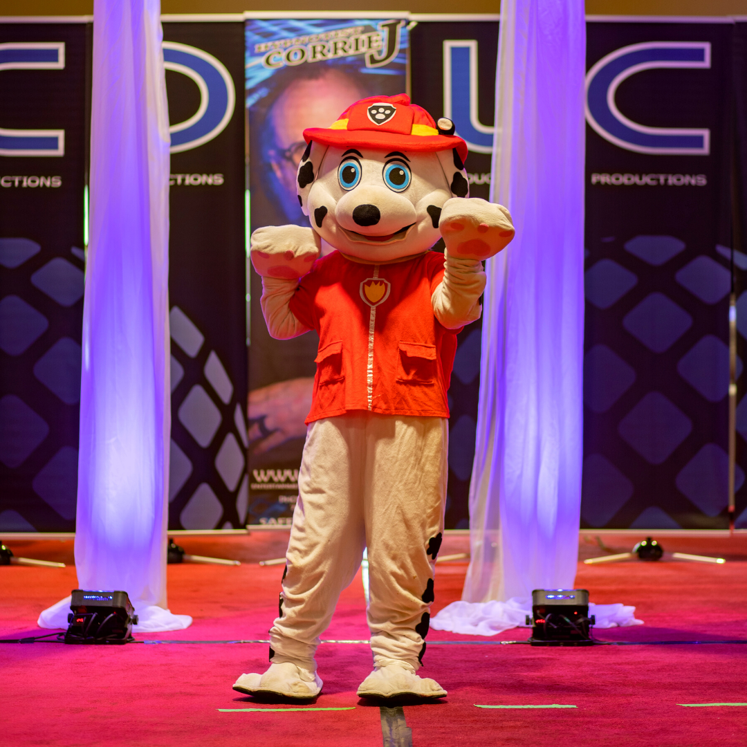 Marshal the mascot