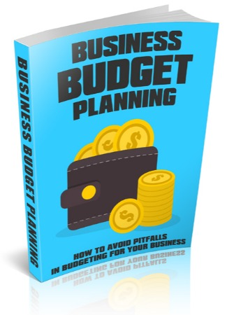 Business Budget Planning Ebook cover