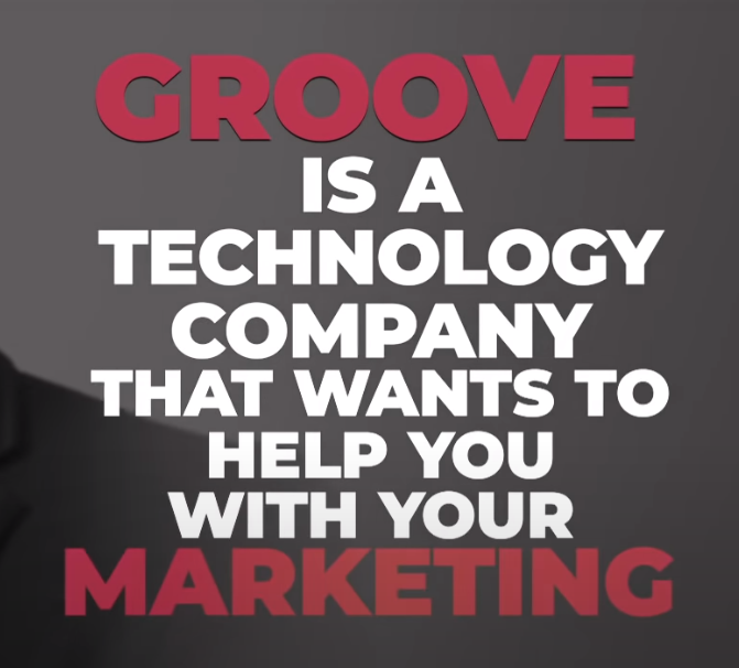 Groove is a technology company that will help you with your marketing