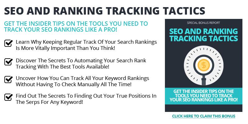 SEO and Ranking Tracking Tactics