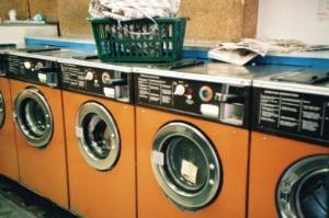 laundrette machines