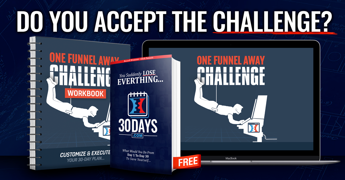 Click funnels 30 day challenge