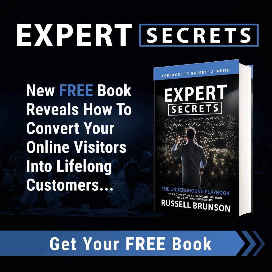 Expert Secrets from Russell Brunson