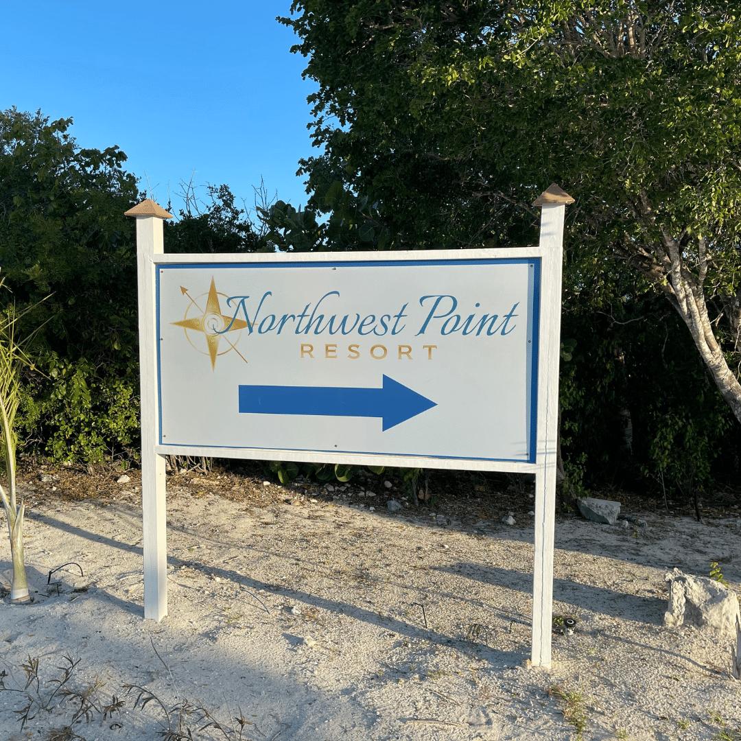 Seas The Day TCI - Entrance