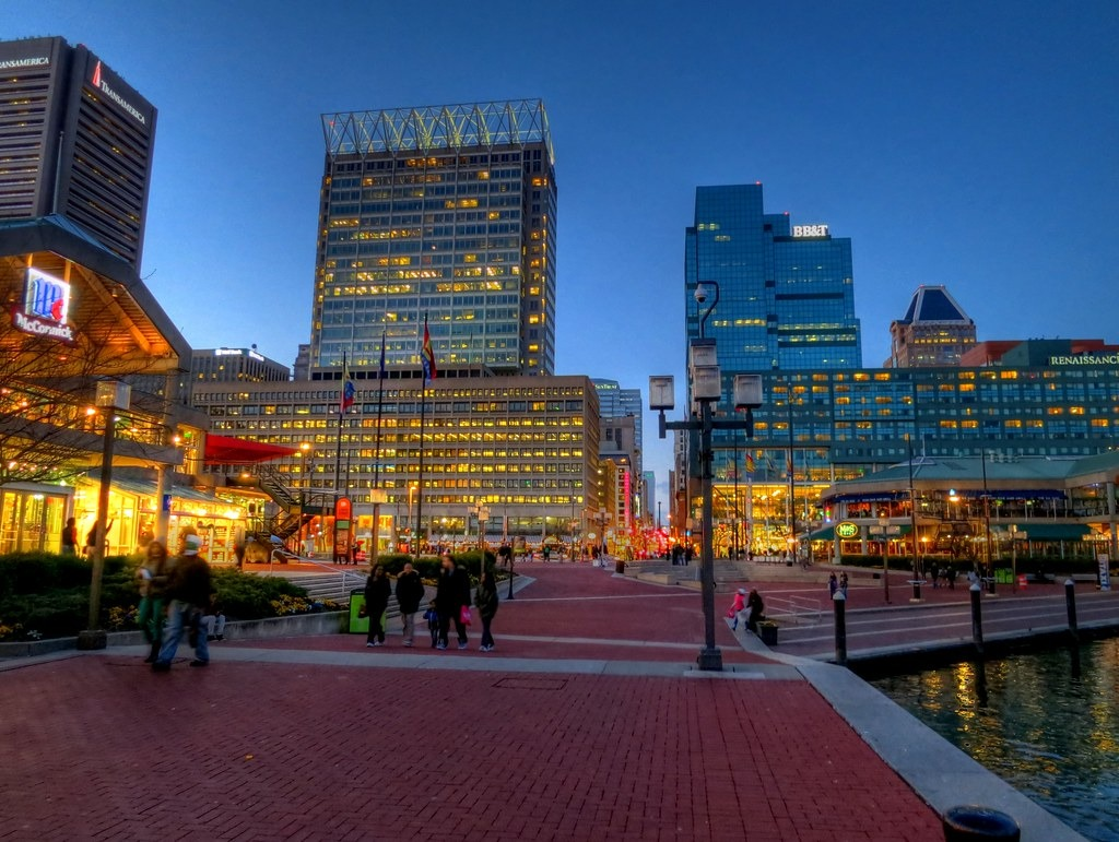 vision specialist baltimore inner harbor