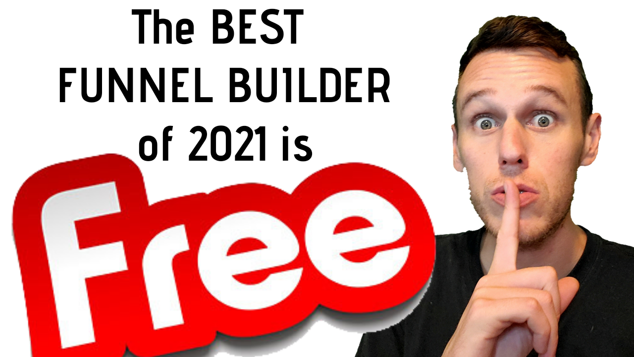 Best Funnel Builder of 2021 is now free!