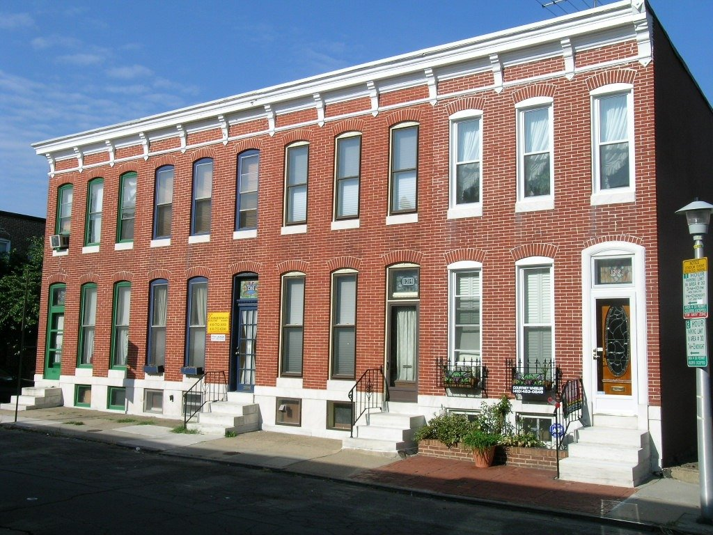 new-row-home-construction-baltimore-city