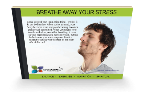 Breathe away your stress