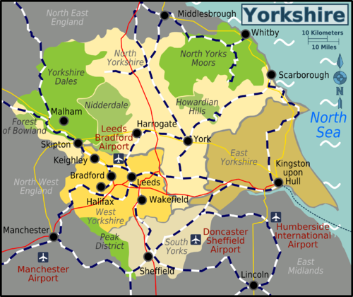 SEO Yorkshire Area of service