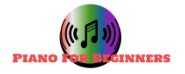 piano lessons for beginners logo