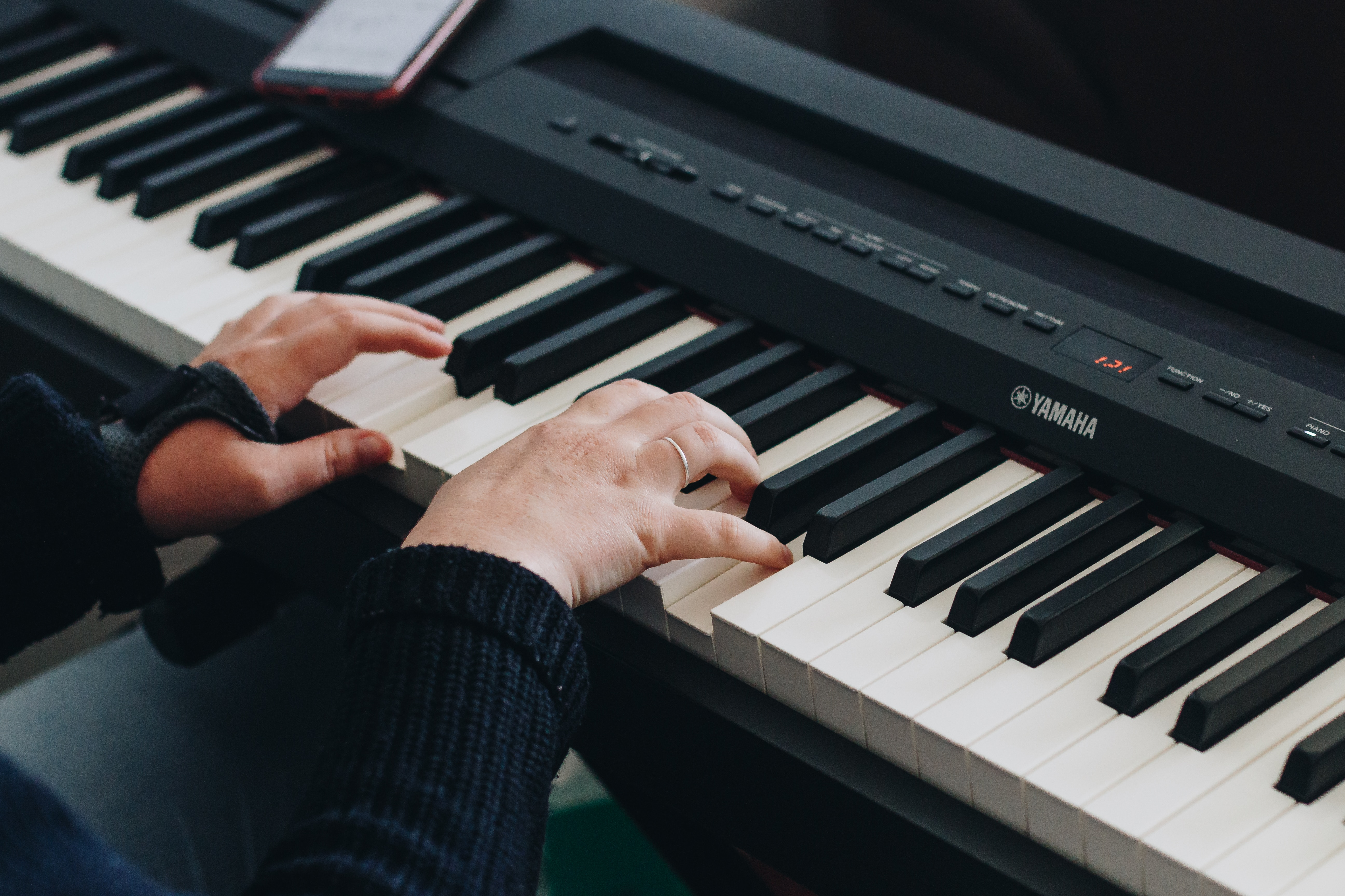 your choices for learning the piano