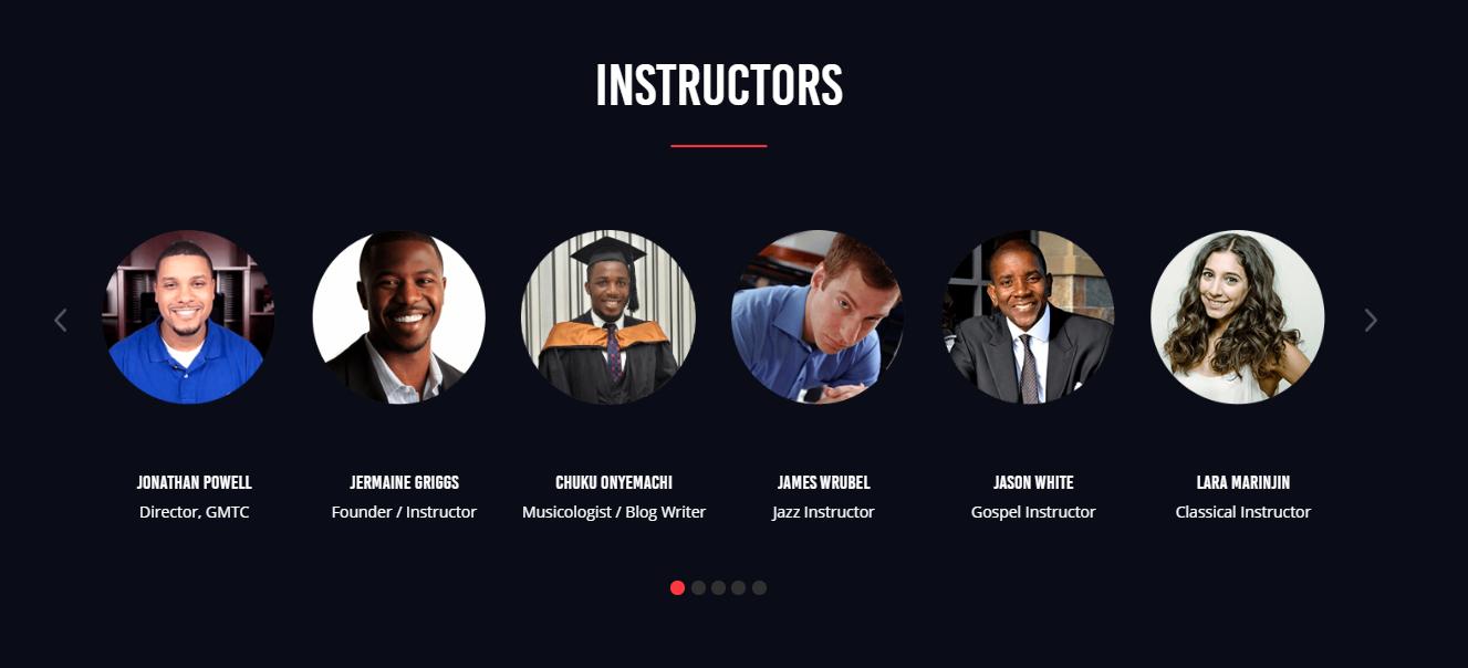 piano instructors
