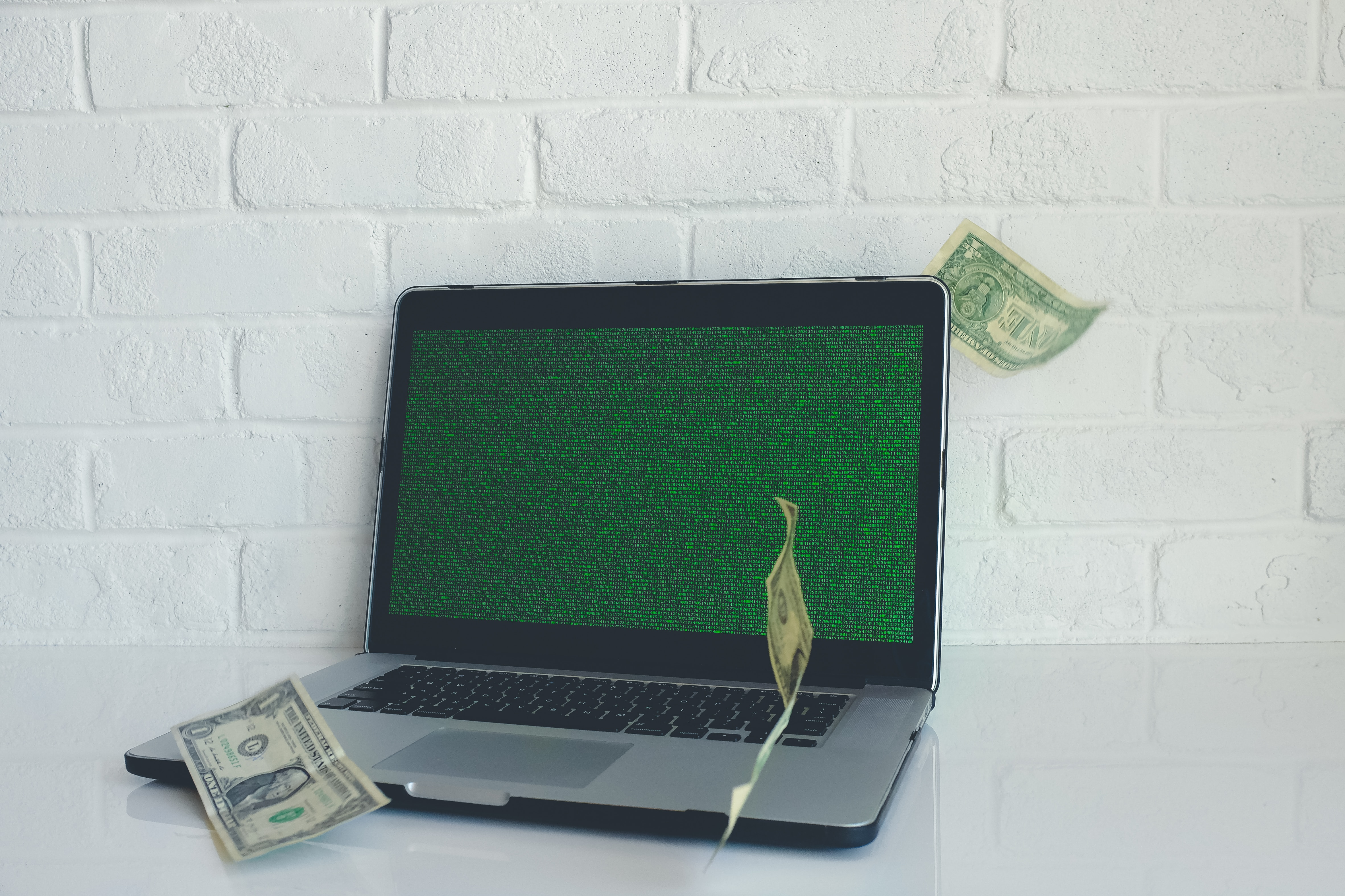 online business without investment computer spitting out cash