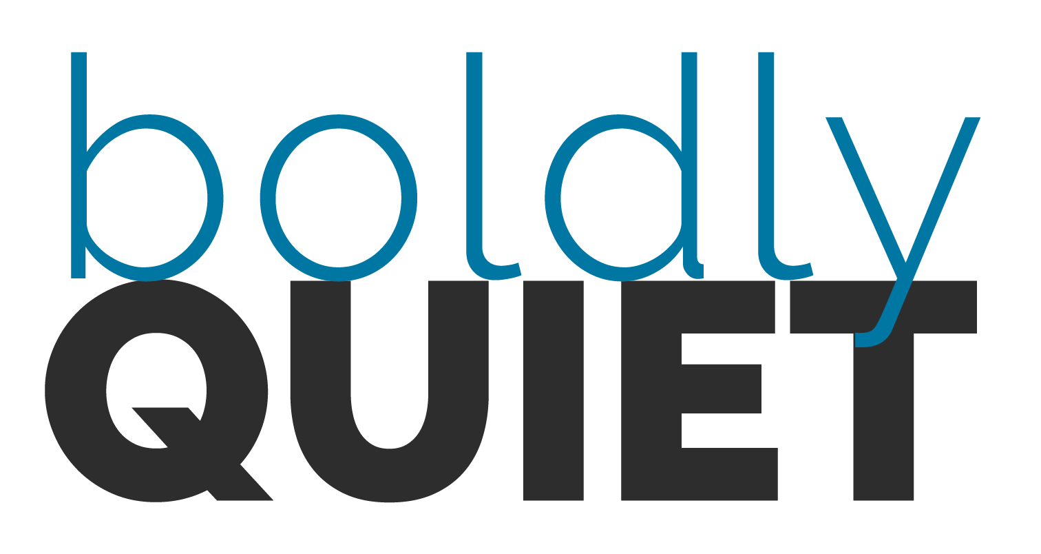 Boldly Quiet Logo