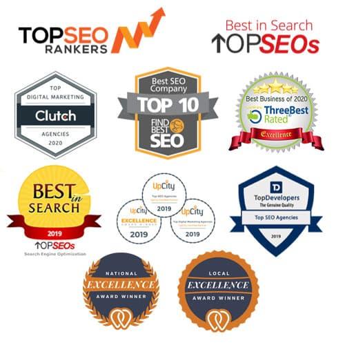 Awards for Uptop Marketing