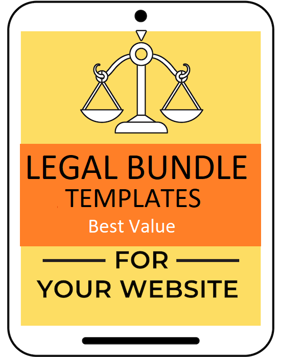 Legally protect your blog or website with this privacy policy, disclaimer and terms and conditions and terms of service legal template