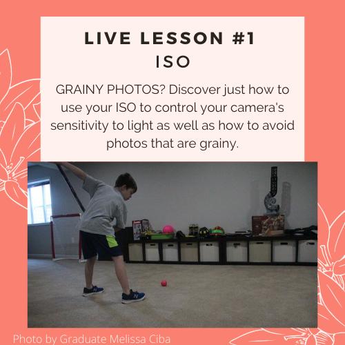 ISO grainy photo