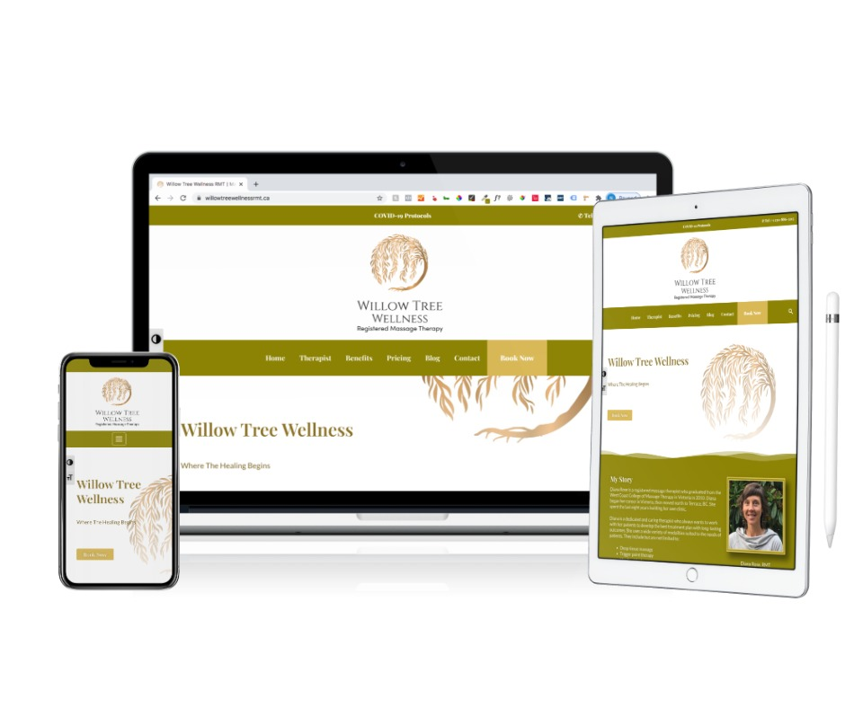 willowtreewellnessrmt.ca website