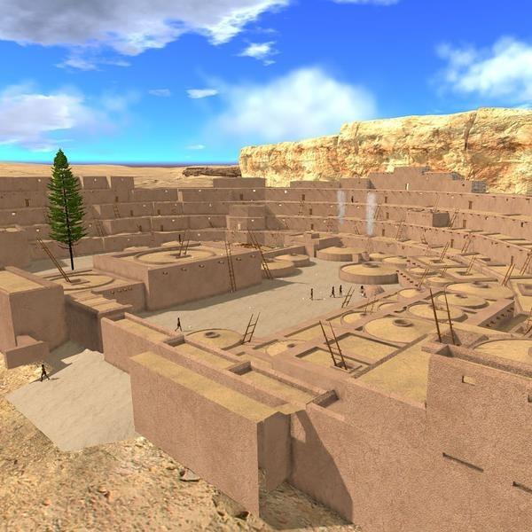 Virtual 3D archaeology