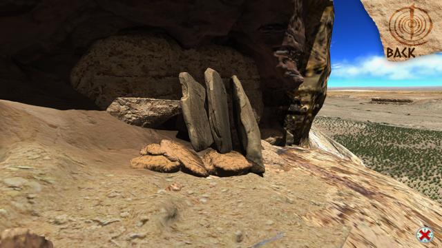 3 slabs on Fajada Butte