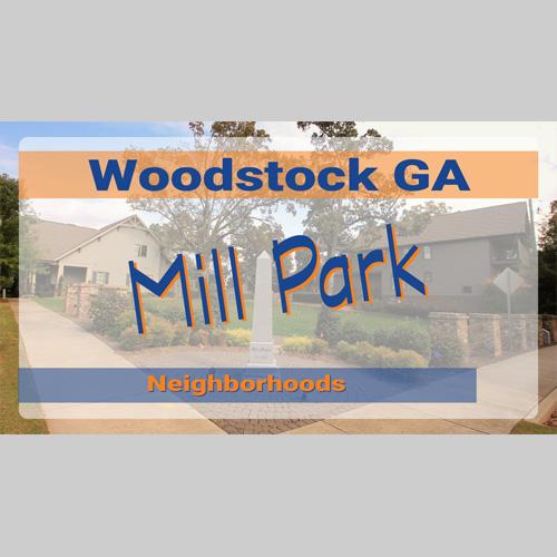 Living in Woodstock GA neighborhoods