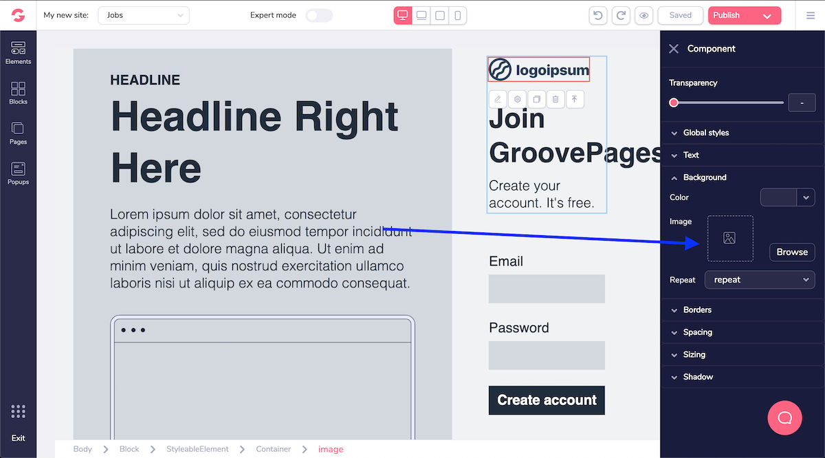 GroovePages Socialancer