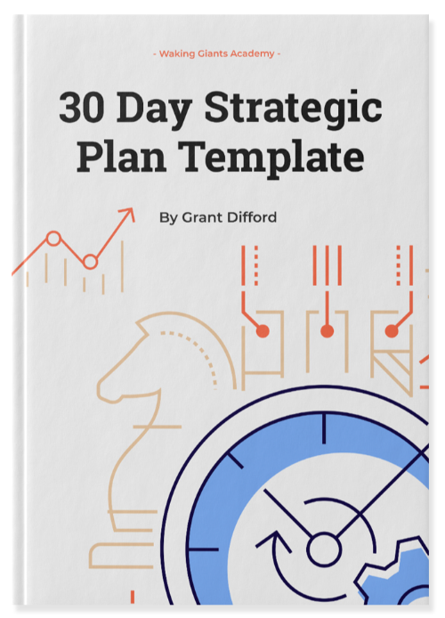 30 Day Strategic Plan Template